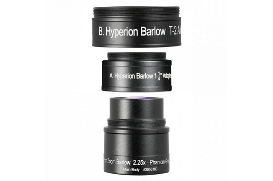 Baader  Lente di Barlow Baader 2.25x per Hyperion...