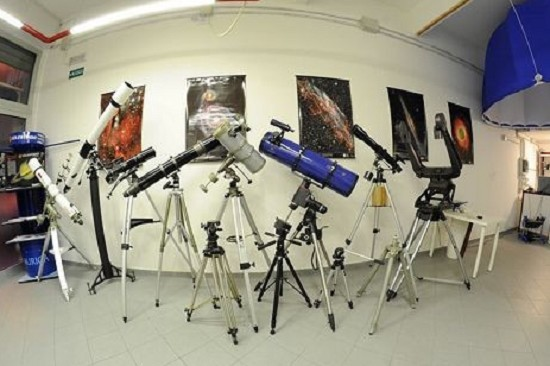 Showroom telescopi